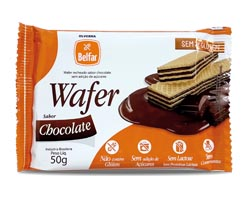 Wafer Belfar sabor chocolate