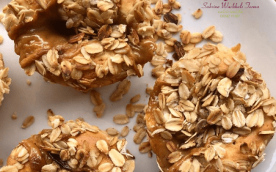 Muffin Rechedo com Banana e Doce de Leite de Soja