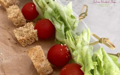 Salada no Palito