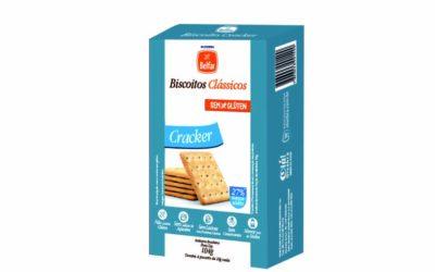 Biscoito Cracker Belfar – sem glúten