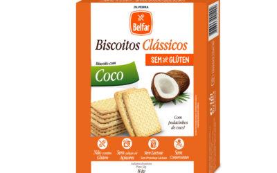 Biscoito Belfar Coco – Biscoito sem glúten e sem lactose
