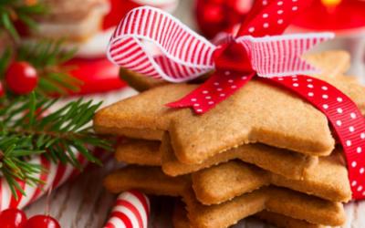 Biscoitinhos de Natal Sem Glúten com Mixpão
